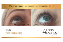 Long4Lashes testiranje z blogerkami