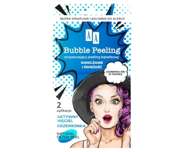 AA Bubble Mask piling z mehurčki