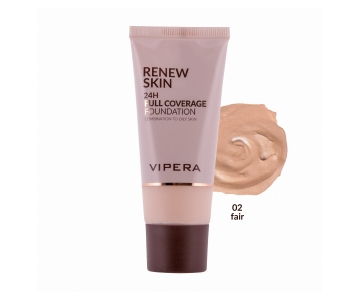 Vipera Renew Skin Full Coverage puder za mešano in mastno kožo