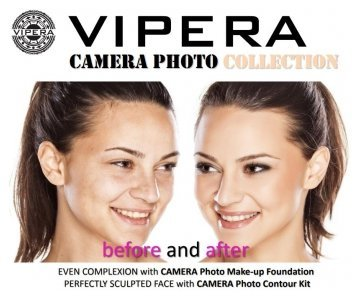 Vipera Camera Photo Make-Up compact obarvana kremna podlaga