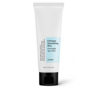 COSRX Ultimate Nourishing Rice Overnight Spa Mask hranilna nočna maska
